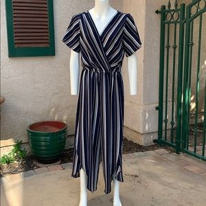 Nordstrom magnolia sky striped jumpsuit